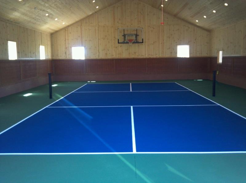 Futsal soccer courts utah parkin tennis courts for Sport court utah