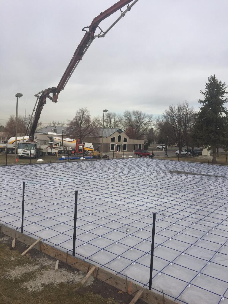 Basketball court construction utah parkin tennis courts for Cout autoconstruction