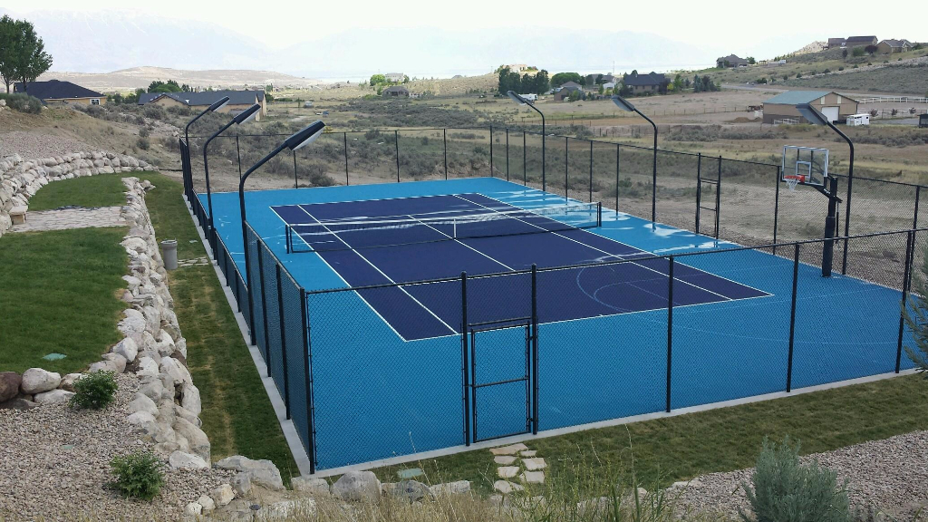 Futsal Soccer Court Construction Utah Parkin Tennis Courts