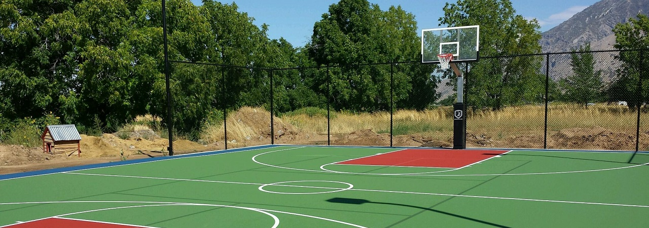 Basketball Court Utah