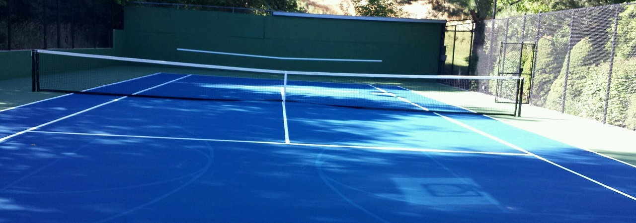 tennis court contractor Utah